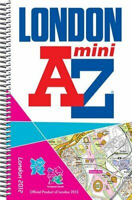 London 2012 Mini Street Atlas (London Street Atlases) by Geographers' A-Z Map Co