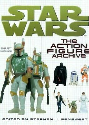 Star Wars: The Action Figure Archive Hardback Book The Cheap Fast Free Post