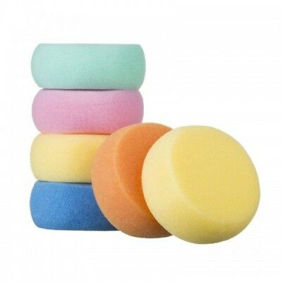 Baby Bath Sponge Round Soft Gentle And Delicate Round Sponge Akuku P1131