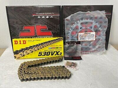 Yamaha R1 Chain And Sprocket Kit 98-03 Heavy Duty Gold X-Ring