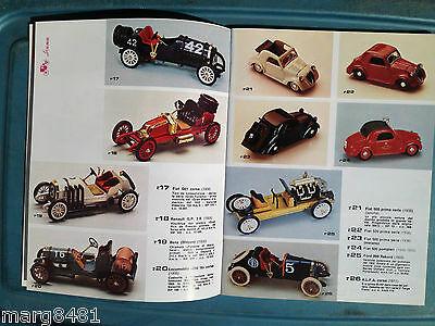 1992 Brumn Toy Catalogue, 1/43 scale, English & Itialian Text, Printed in Italy