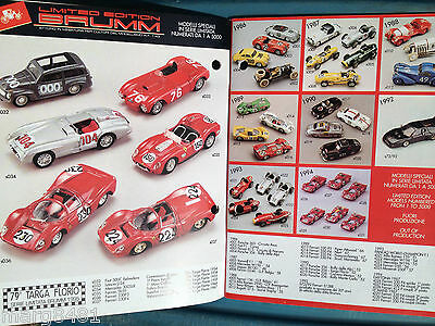 Brumn Toy Catalogue, 1/43 scale, English & Italian Text, Printed in Italy