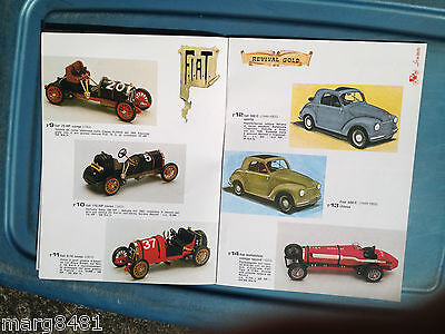 1978 Brumn Toy Catalogue, 1/43 scale, English & Itialian Text, Printed in Italy