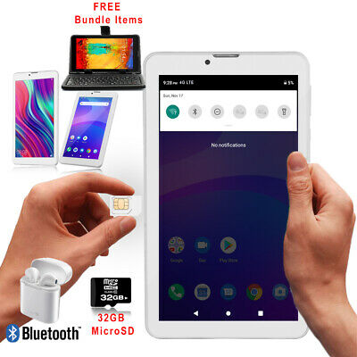 "A76 7"" Android 4.4 KitKat 3G SmartPhone Phablet Tablet PC w/ FREE ACCESSORIES"