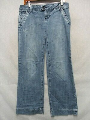 D7839 American Eagle Stretch Flare Cool Jeans Women's 35x31