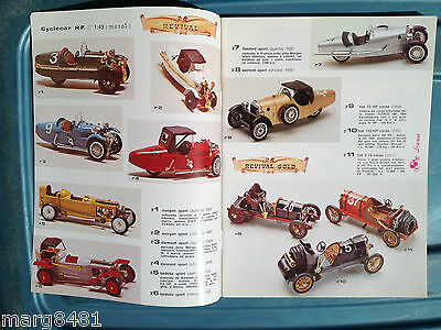 1996 Brumn Toy Catalogue, 1/43 scale, English & Itialian Text, Printed in Italy