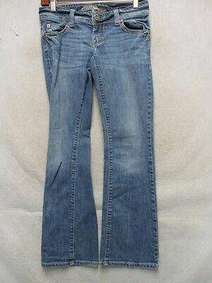 D2237 American Eagle Stretch Cool Boot Cut Jeans Women 29x28