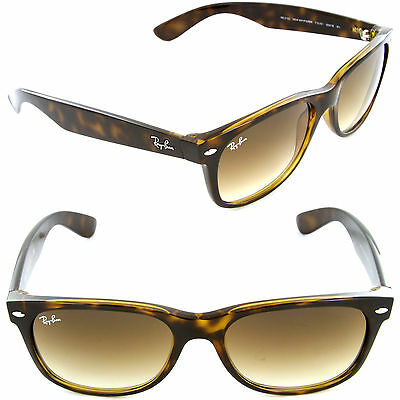 Ray-Ban RB 2132 710/51 55mm Wayfarer Light Havana / Crystal Brown Gradient Lens