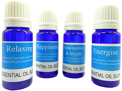 Essential Oil Blends - Choose from 25 Blends - Pure Aromatherapy Essential Oils