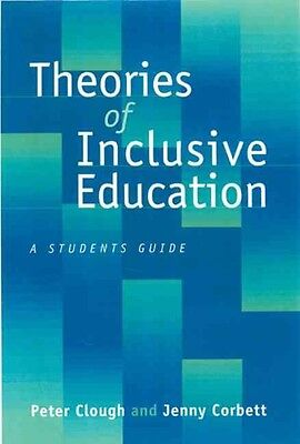 Theories of Inclusive Education: A Student's Guide by Peter Clough Paperback Boo
