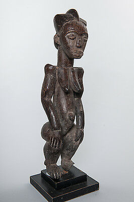 Ijaw, Female Ancestor Statue, Nigeria, African Tribal, Sculpture