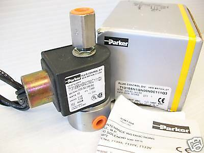NEW PARKER 71315SN1GN00N0C11 3-Way SOLENOID VALVE *** NEW IN BOX ***