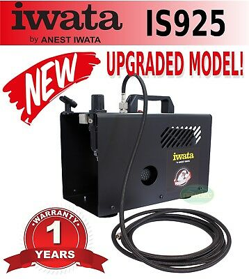 New Iwata Is925 Power Jet Lite Compressor Power Spray Art Pressure Psi Duty