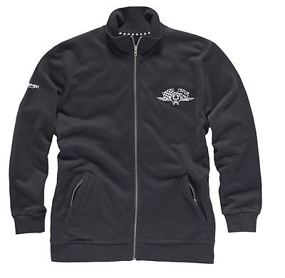 Triumph Mens Ace Cafe Zip Sweat