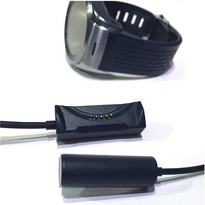 USB Charging Cable Dock Cradle Charger For LG Watch Urbane 2 W200 Watch Black