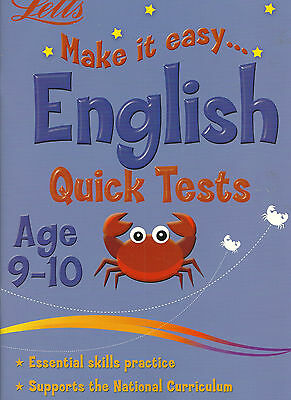 Letts Make It Easy English Quick Tests Age 9-I0 With 30 Tests Makelearning Easy