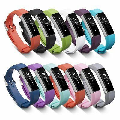 New Sport Silicone Watch Band Strap with Metal Buckle For Fitbit Alta/Alta HR