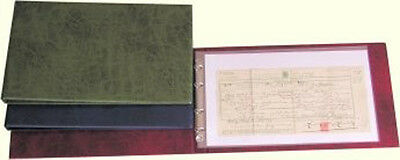 Family History Foolscap Deluxe Binder Starter Package
