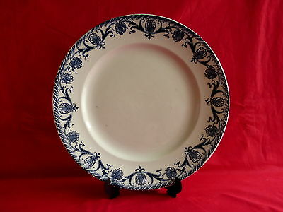 "ancien plat rond saint amand orchies service ""cardere"""