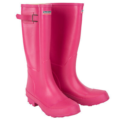 Town&Country Womens Festival Wellies Wellington Boots Raspberry Size 5
