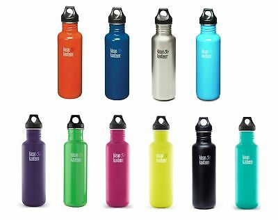 Klean Kanteen 800ml Classic Water Bottle (w/Loop Cap) RRP £18.95