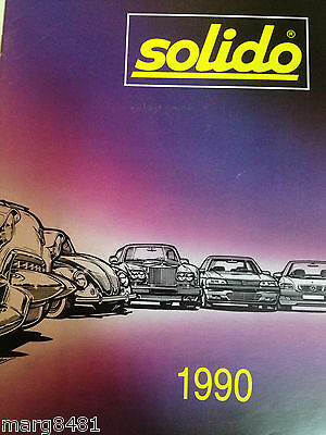 1990 Solido Catalog, printed in France