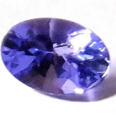 NATURAL EXCELLENT TOP VIOLET BLUE TANZANITE LOOSE GEMSTONE (5 x 3 mm) OVAL CUT