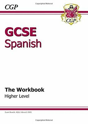 GCSE Spanish Workbook - Higher (A*-G course) by Books, Cgp Paperback Book The