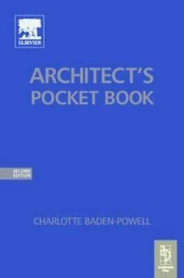 Architect's Pocket Book (Routledge Pocket B... by Baden-Powell, Charlo Paperback