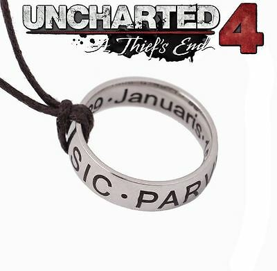 Collana Uncharted 2 3 4 Anello Nathan Drake Ring Necklace Cosplay Sir Francis #1