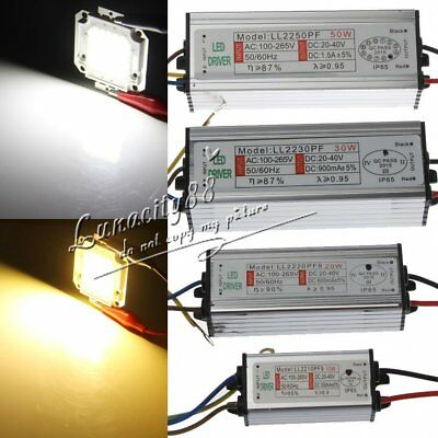 10W 20W 30W 50W Power Supply LED Driver Lighting Transformer Waterproof Adapter