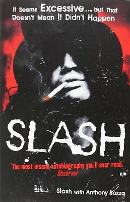 Slash: The Autobiography, Slash Paperback Book The Cheap Fast Free Post