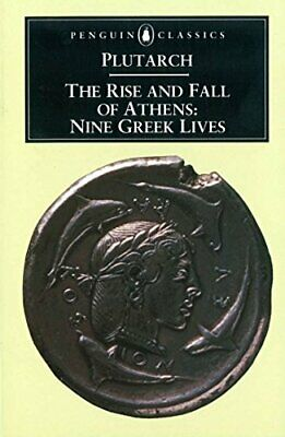 The Rise and Fall of Athens (Penguin Classics) by Plutarch Paperback Book The
