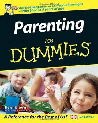 Parenting for Dummies, UK Edition, Helen Brown Paperback Book The Cheap Fast