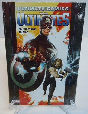 Ultimate Comics The Ultimates Volume 1 Hickman Marvel HC Hard Cover New Sealed