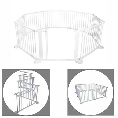 NEW Baby Playpen Toddler Kids Safety Gate Play Yard Barrier Nanny Panel Child