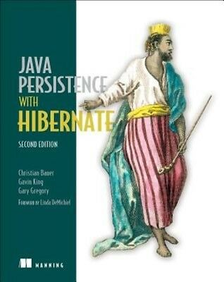 Java Persistence with Hibernate by Christian Bauer Paperback Book (English)