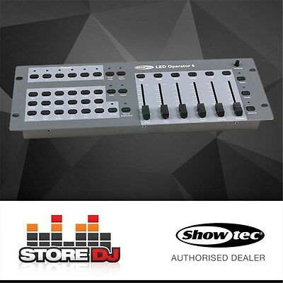 Showtec LED Operator 6 DMX Controller (For RGBWA-UV LED Cans)