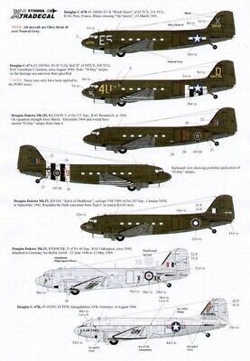 Xtradecal X72083 1/72 Douglas C-47 Dakota Skytrain Model Decals