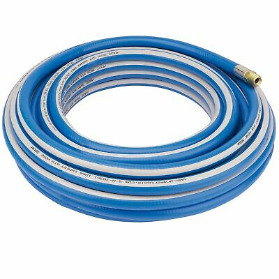 "Draper Tools / Workshop Expert 15m 1/4"" BSP 6mm Bore Air Line Hose - 38356"