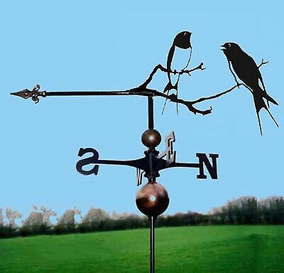 Swallows Weathervane - Handmade  - Very High Quality