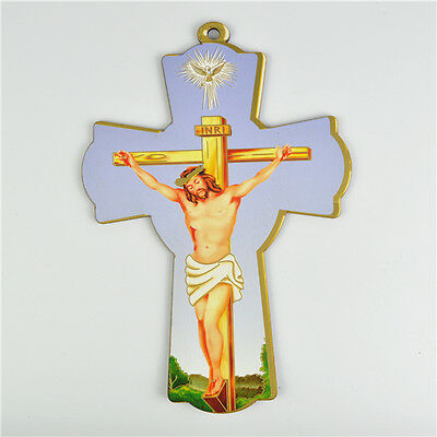 Wooden Religious Saint Crucifixes With Jesus On The Cross Picture