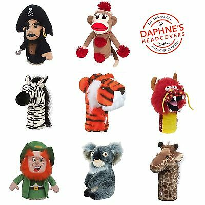 Daphnes Golf headcovers over 50 Characters Driver / Unility Head covers New 2017