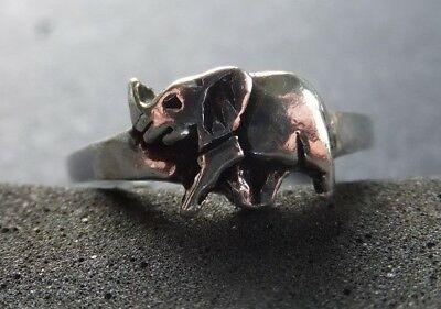 ELEPHANT TOE RING, Solid .925 Silver *BN* good quality, sturdy toe ring