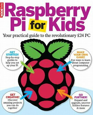 Raspberry Pi for Kids, MagBook Book The Cheap Fast Free Post