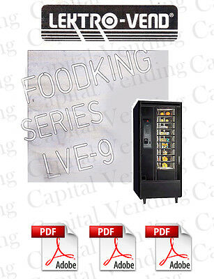 Lektrovend LVE9 FoodKing Manual (103 pages) PDF sent by email
