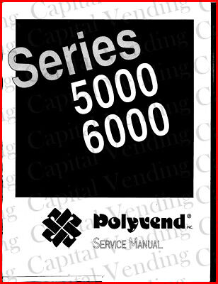 Polyvend Series 5000 6000 Service Manual (79 Pages) PDF sent by email