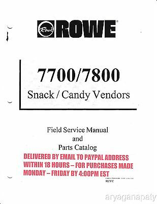 Snack Rowe 7800 (89 Pages) PDF sent by email