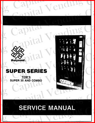 Cosmic Vending Machines Owners Manual Delivered FAST by Electronic .PDF