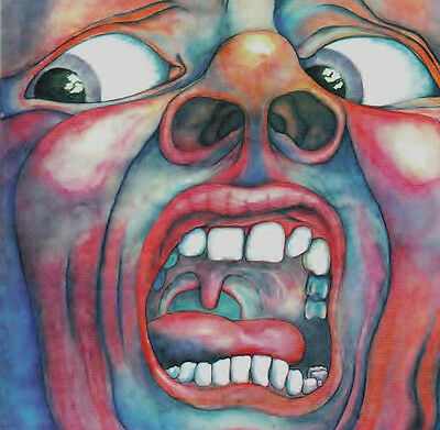 King Crimson.. In The Court Of The  ... Iconic Album Cover Poster A1A2A3A4 Sizes